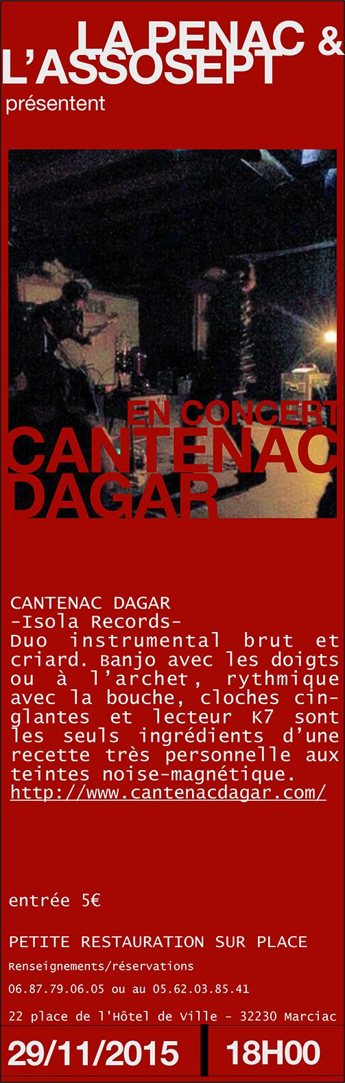 CANTENAC DAGAR